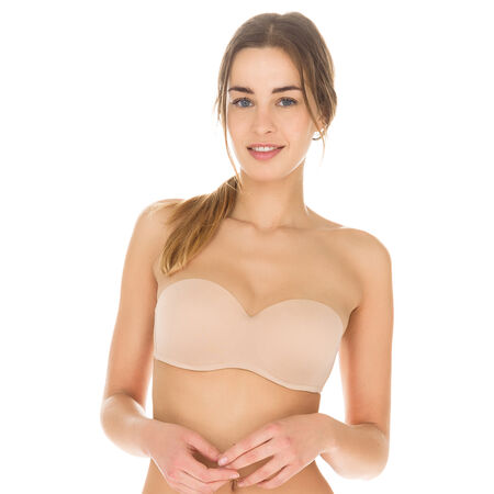 Soutien-gorge new skin bandeau dos nu Invisi Fit cce7f85c15f