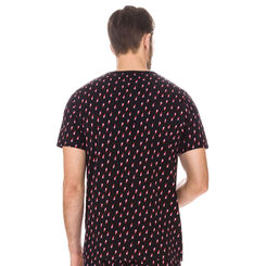 T-shirt de pyjama imprimé toucans 100% coton Homme-DIM