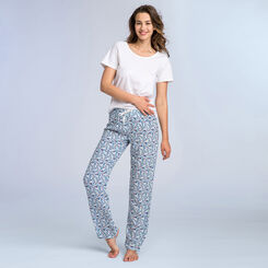 Pantalon bleu ciel Soft & Cool Femme-DIM