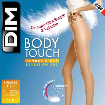 Collant clair Body Touch Jambes d'été 17D-DIM