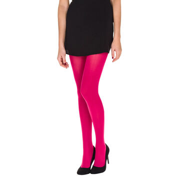 Collant cerise Madame So Daily opaque velouté 40D-DIM