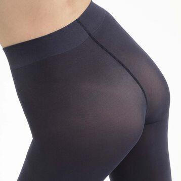 Collant Bleu Marin en microfibre pour femme Opaque Sensationnel, , DIM