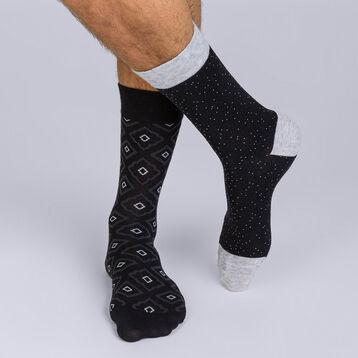 Lot de 2 paires de mi-chaussettes Coton Persian-DIM
