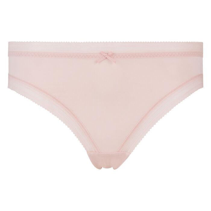 Culotte en microfibre skin rose pour femme Bar à Culottes Dim, , DIM