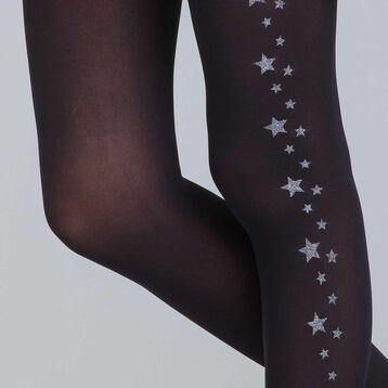 Collant étoile d'argent édition limitée 40D-DIM