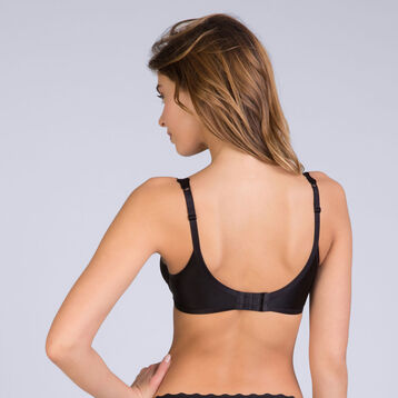 Soutien-gorge foulard noir Femme Beauty Lift-DIM