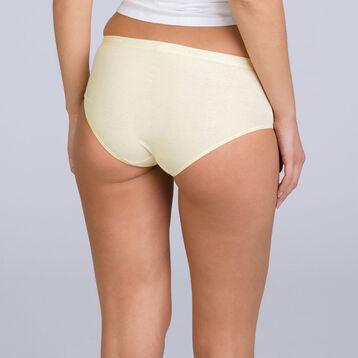 Lot de 3 boxers blanc, jaune et vert Les Pockets EcoDIM-DIM