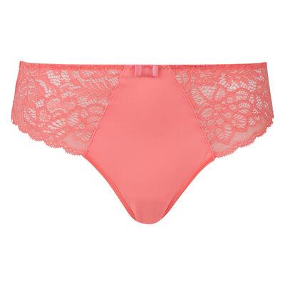 Culotte corail rosé Sublim Dentelle, , DIM