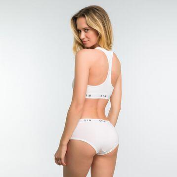Boxer Blanc femme - DIM Originals, , DIM