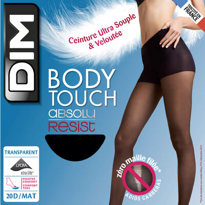 Collant noir Body Touch 20D Absolu Resist, , DIM