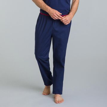 Pantalon de pyjama bleu matelot Night Signature-DIM