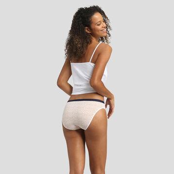 Lot de 3 culottes imprimé mimosa Les Pockets Coton Stretch de Dim, , DIM