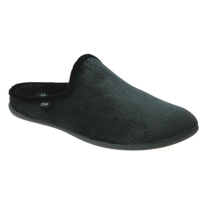 Chaussons type pantoufles gris Homme , , DIM