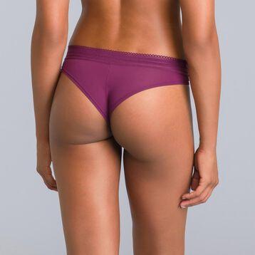 Slip brésilien violet grenat Daily Glam-DIM