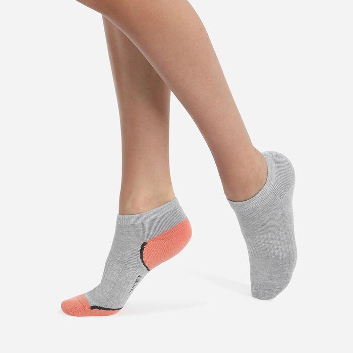 Lot de 2 paires de socquettes courtes impact léger pour femme Dim Sport, , DIM