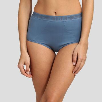 Culotte taille haute bleu antique Des Hauts et Des Bas de Dim, , DIM