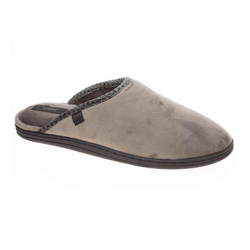 Chaussons pantoufles taupe Homme-DIM