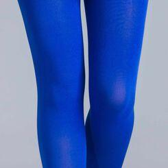 Collant ultra opaque bleu neptune 80D Style-DIM