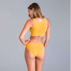 Slip collection 60 ans jaune d'or-DIM
