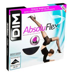 Collant noir AbsoluFlex transparent 20D, , DIM