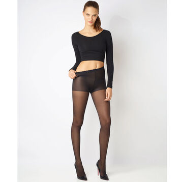 Lot de 3 (2+1 gratuit) collants noirs  Body Touch Voile 20D-DIM