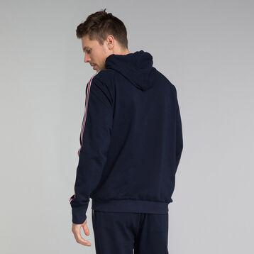 Sweat shirt  à capuche bleu marine - Mix and Match, , DIM