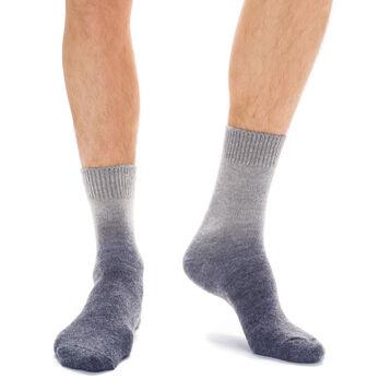 Chaussettes gris en laine effet dégradé Homme, , DIM