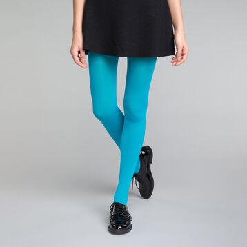 Collant bleu émail opaque velouté 50D - DIM Style 81c1b65b561