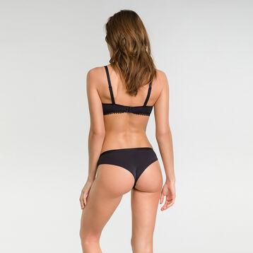 Tanga brésilien dentelle noir - Dim Daily Glam Trendy Sexy, , DIM