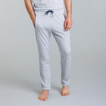 Pantalon de pyjama Street Art gris chiné-DIM