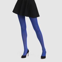 Collant bleu impertinent opaque velouté Style de Dim 50D, , DIM