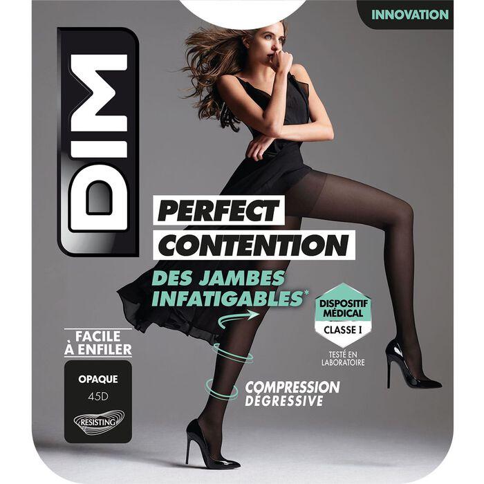 Collant Opaque Noir pour femme DIM Perfect Contention 45D, , DIM