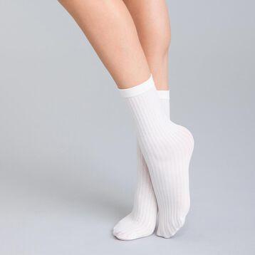 0be132d997111 Socquettes en cotte de mailles ivoire DIM   BASH-DIM