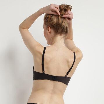 Soutien-gorge foulard sans armatures noir New Body Touch Libre de Dim, , DIM