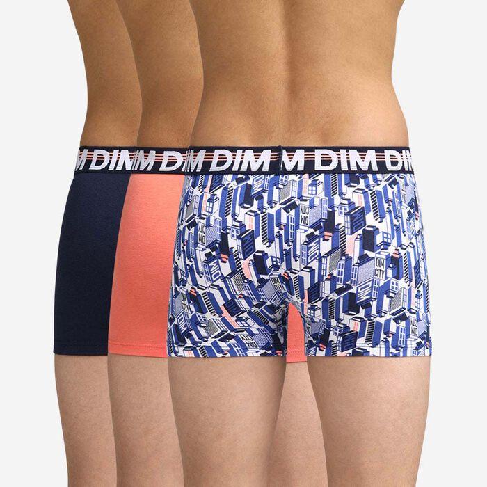 Lot de 3 boxers Garçon tricolore Dim Boy, , DIM
