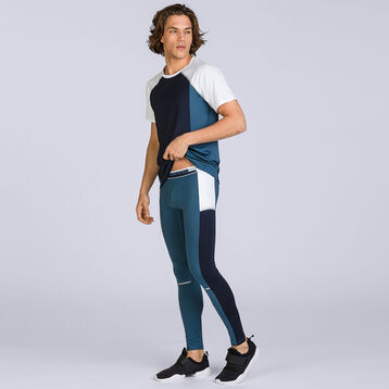 Legging gris-bleu DIM sport-DIM