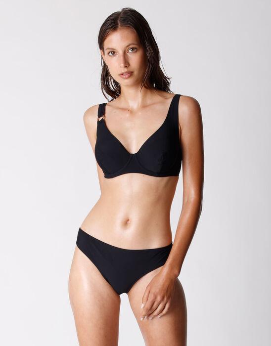Bas de maillot de bain Noir pour Femme en microfibre, , DIM