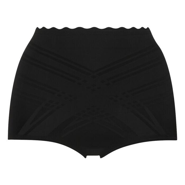 Culotte taille haute effet sculptant 3 en 1 noire Beauty Lift, , DIM