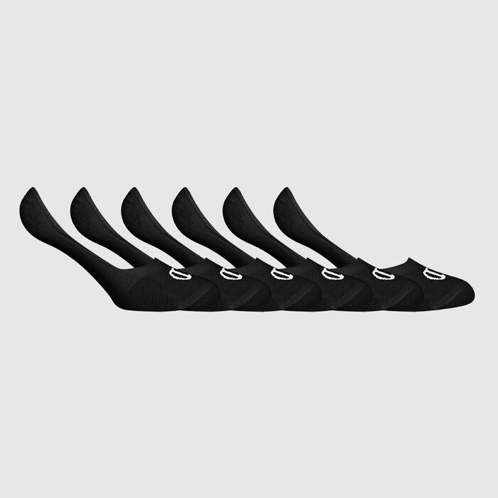 Lot de 6 socquettes Noires Champion Legacy, , DIM