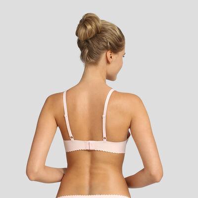 Soutien-gorge foulard avec renforts souples rose New Body Touch Libre de Dim, , DIM