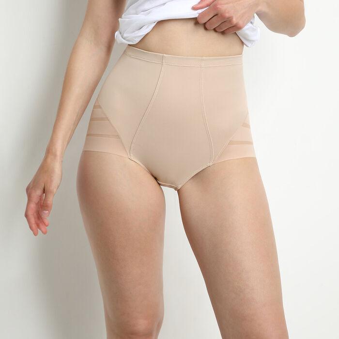 Culotte peau taille haute ventre plat Diam's Control, , DIM