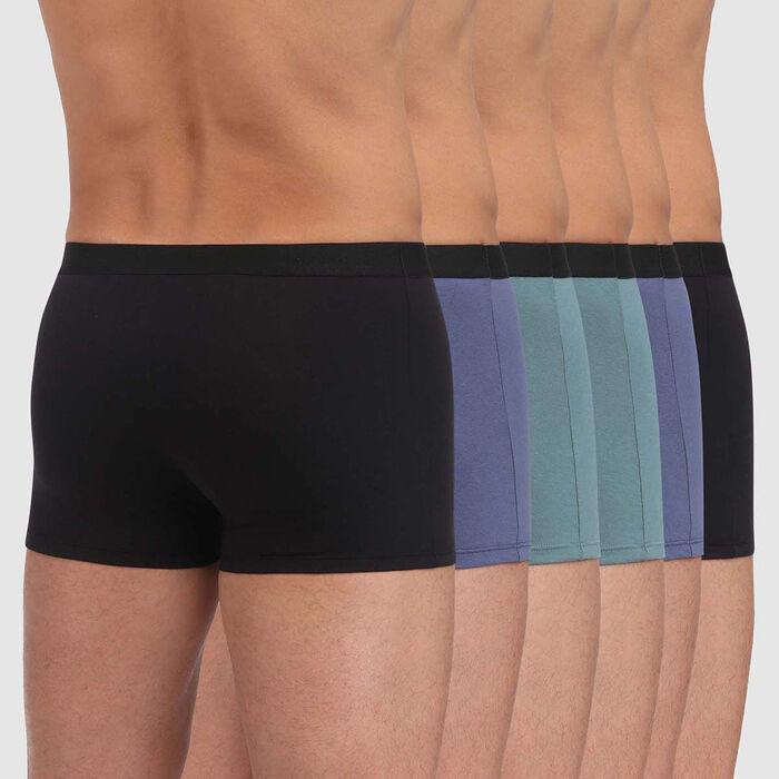 Lot de 6 boxers pour Homme EcoDIM Coton Stretch, , DIM