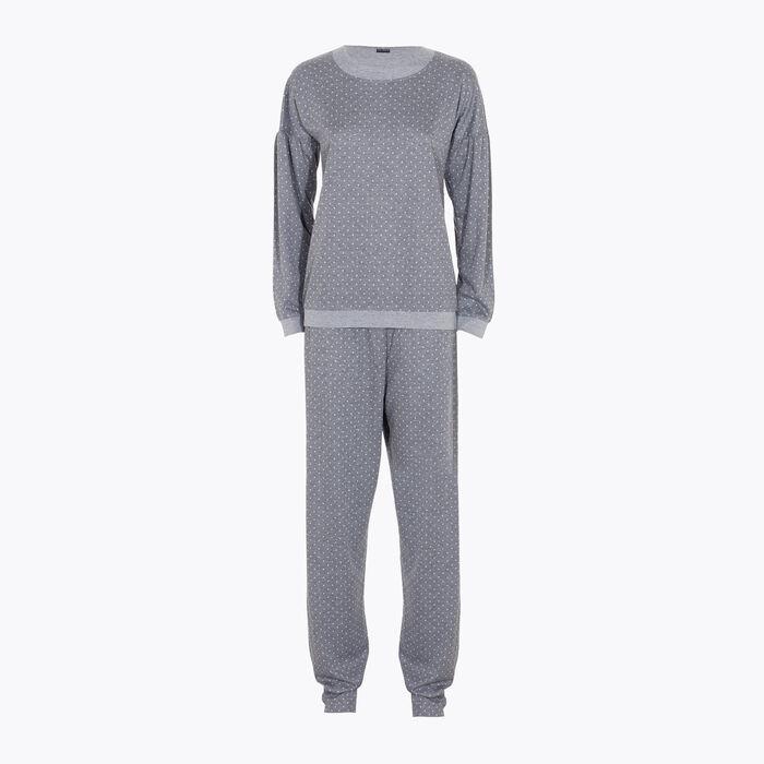 Ensemble de pyjama pour Femme Gris à pois, , DIM