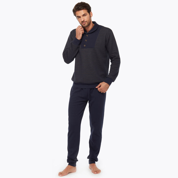 Ensemble de pyjama pour Homme Bleu et marron, , DIM