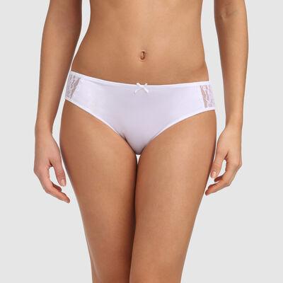 Culotte classique blanche Feminine line , , DIM