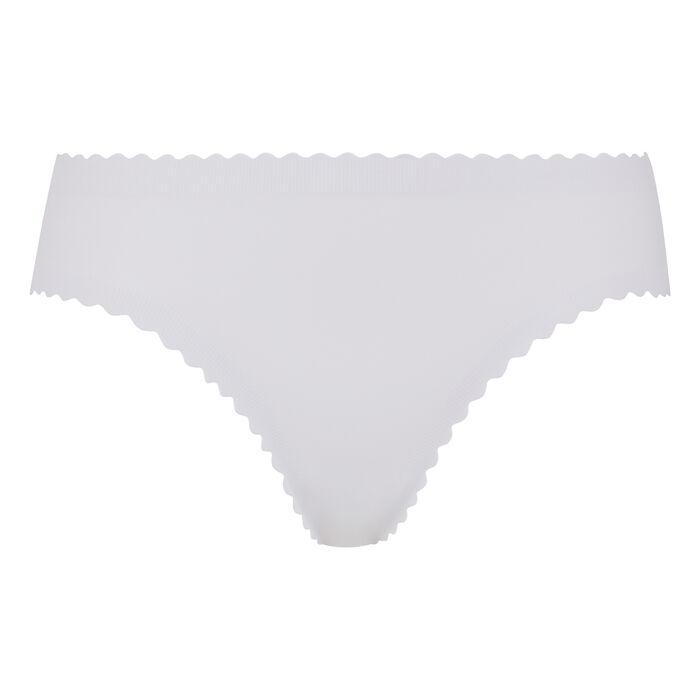 Culotte blanche en microfibre Body Touch Dim, , DIM