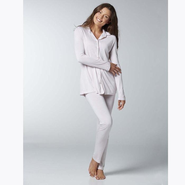 Ensemble de pyjama pour Femme Rose pâle, , DIM
