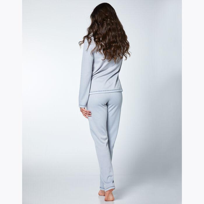 Ensemble de pyjama pour Femme Gris effet polaire, , DIM