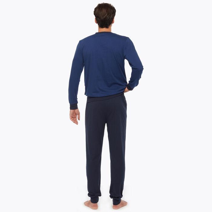 Ensemble de pyjama pour Homme Bleu Nuit, , DIM