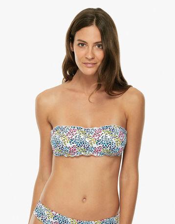 Haut de maillot de bain bandeau multicolor Femme-DIM
